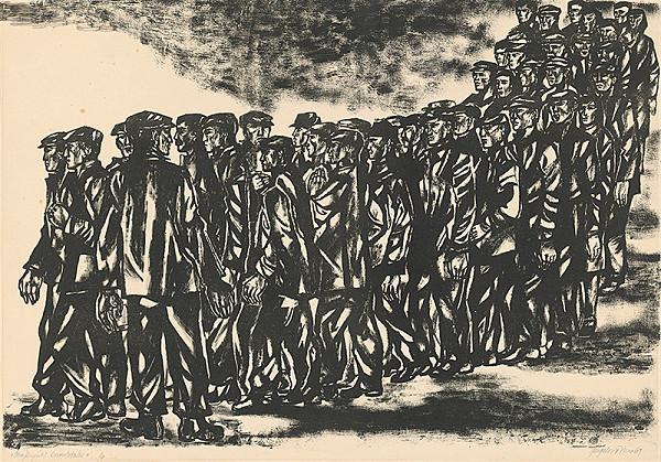 Viera Gergeľová – Štrajkujúci kovorobotníci