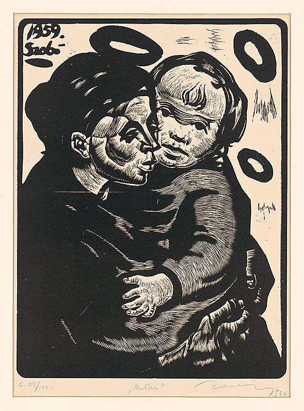 Július Szabó - Matka s dieťaťom