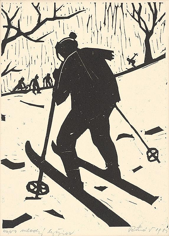 Pavol Petráš st. – Mladý lyžiar