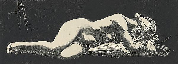 Jozef Nagy – Ležiaci akt