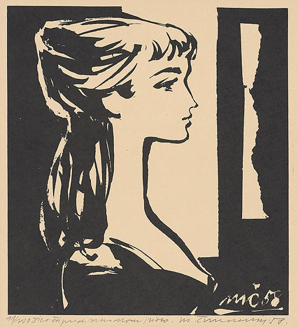 Marián Čunderlík – Dievča pred zrkadlom