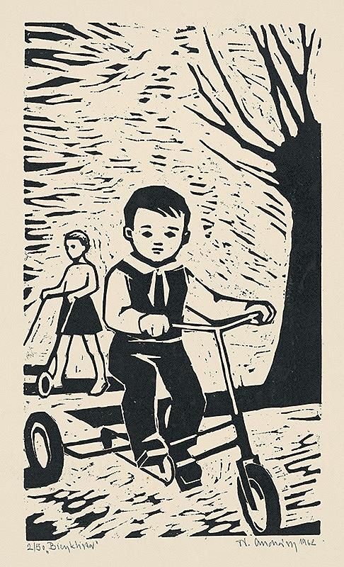 Tibor Andrássy – Bicyklista