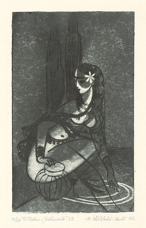 Mária Želibská – Záhradník 8.