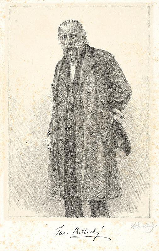 Max Švabinský – Jaroslav Vrchlický