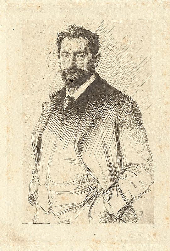 Max Švabinský - Stanislav Sucharda