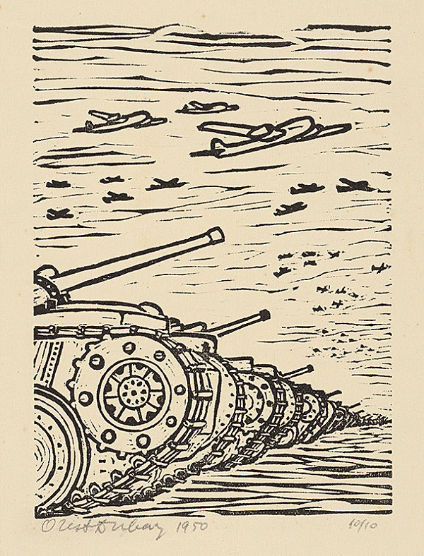 Orest Dubay - Vojna