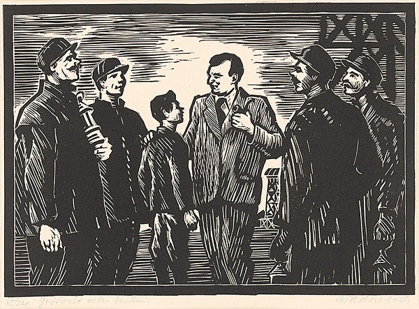 Jozef Fedora – Klement Gottwald medzi baníkmi