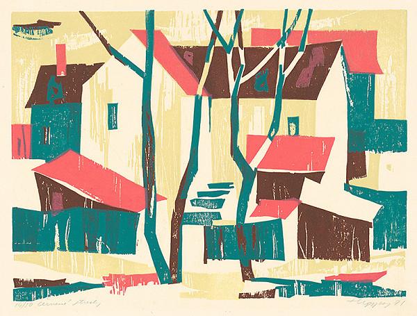 Július Hegyesy – Červené strechy
