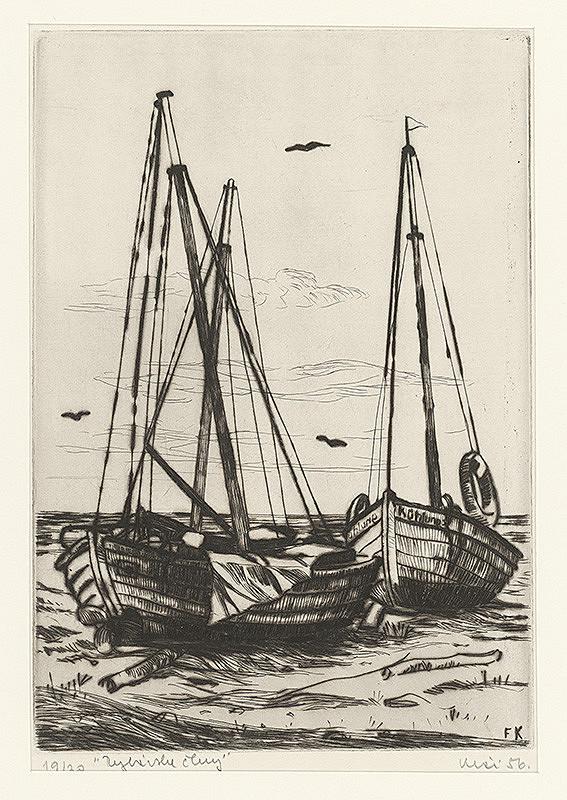 Fero Kráľ - Rybárske člny