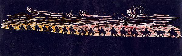 Pavol Markovič – Nočný pochod partizánov