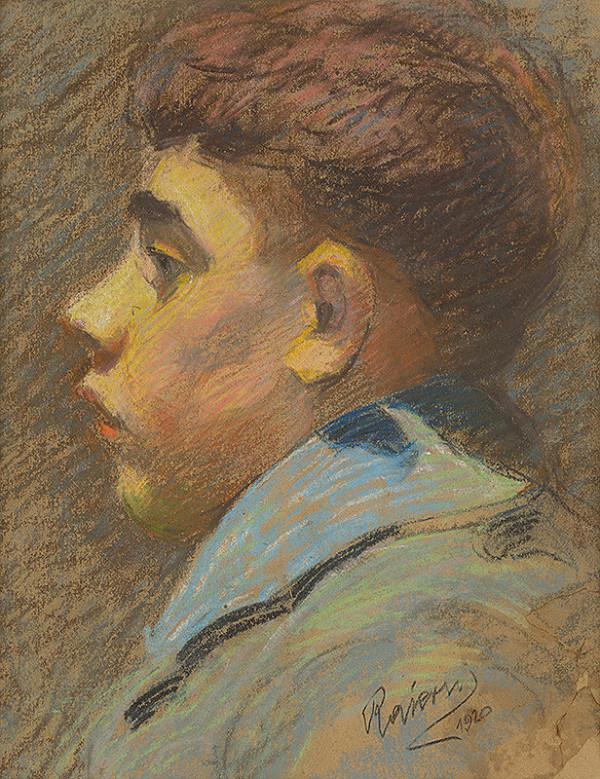 Ernest Rákosi – Portrét chlapca
