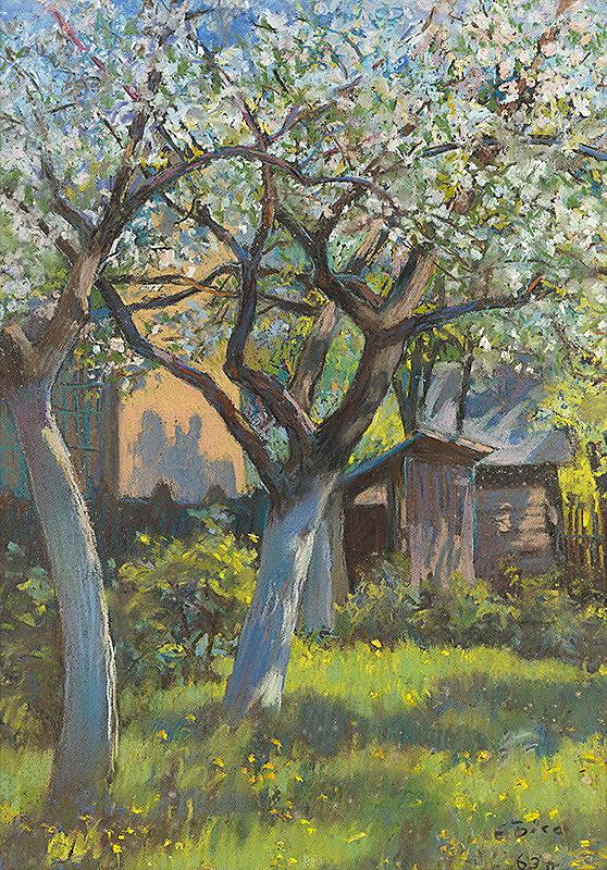 Eva Kapišovská-Byssová – V záhrade