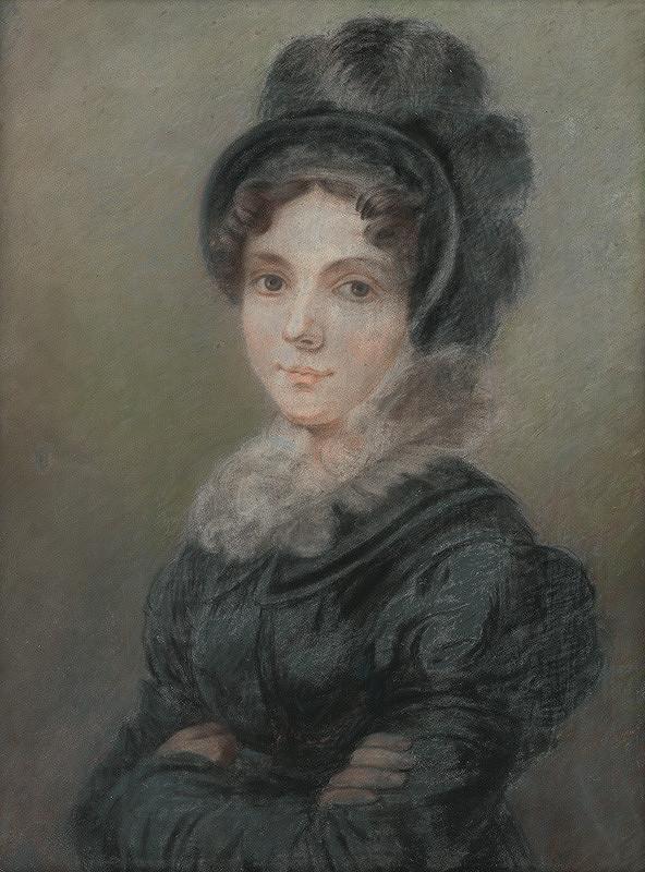 Ján Rombauer – Podobizeň umelcovej manželky