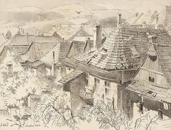 Ľudovít Feld - Levoča - strechy