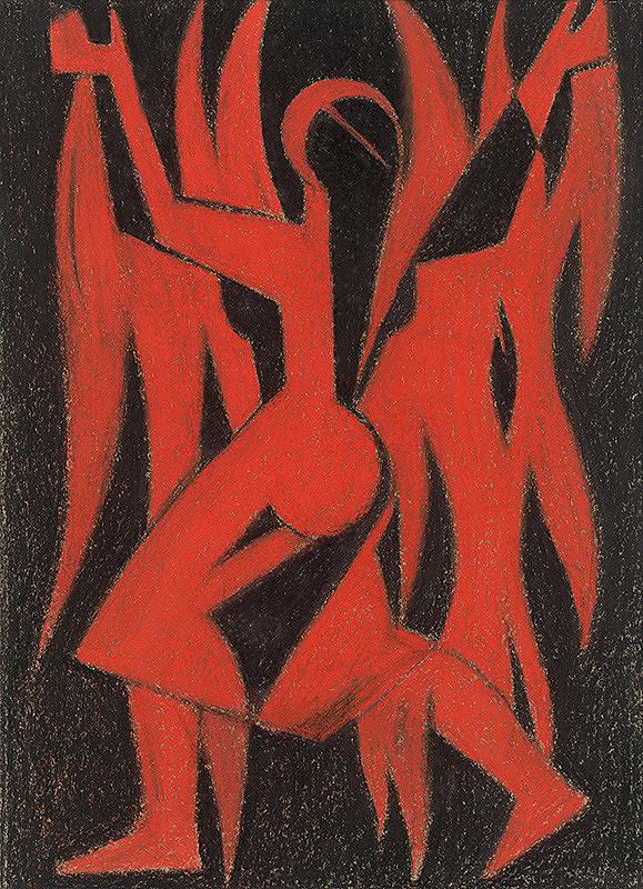 Július Muška - Oheň