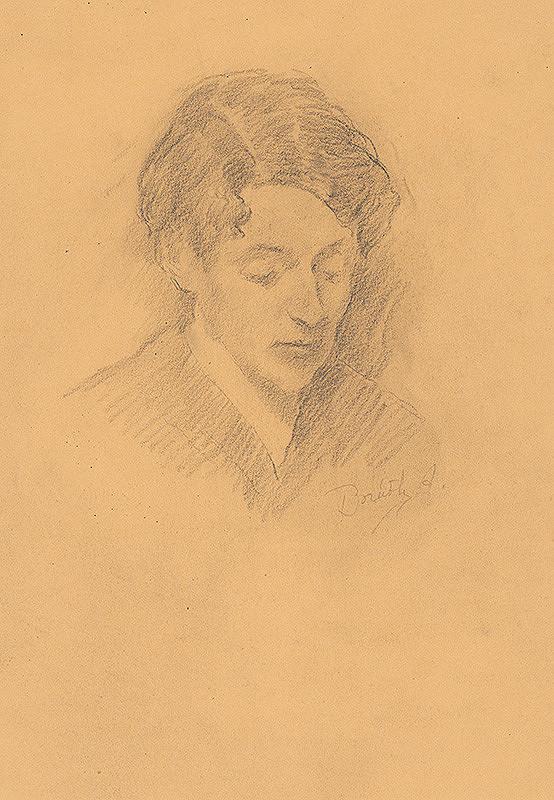 Andor Borúth - Portrét ženy