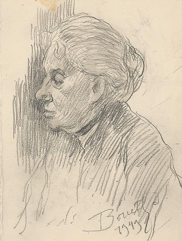 Andor Borúth - Portrét starej ženy
