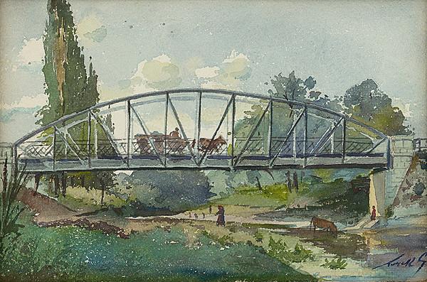 Július Török – Železný most nad Torysou