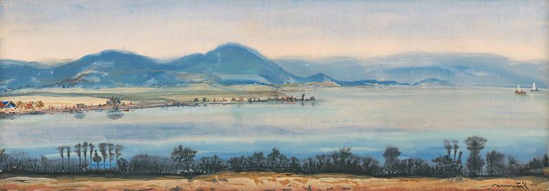 Július Nemčík – Letná Šírava, 1969, Šarišská galéria