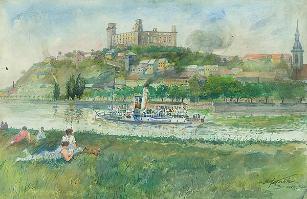 Július Török – Bratislavský hrad
