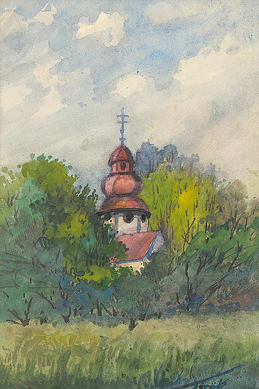 Július Török – Kostolík od Dukly