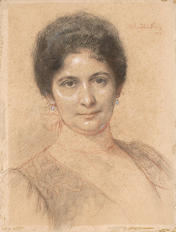 Maximilián Kurth – Podobizeň ženy