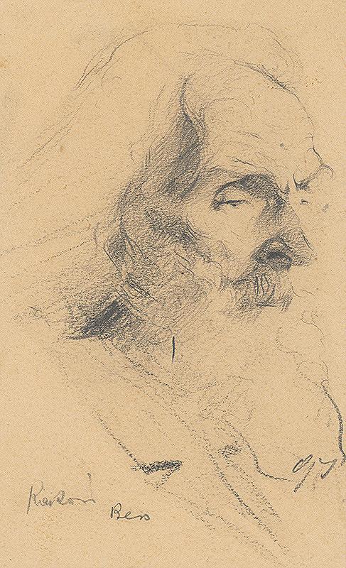 Ernest Rákosi – Portrét starca