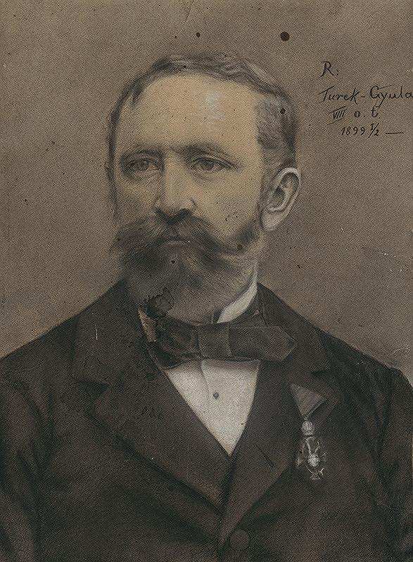 Július Török – Podobizeň muža s medailou