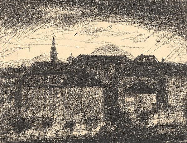 Anton Sučka – Večer nad mestom