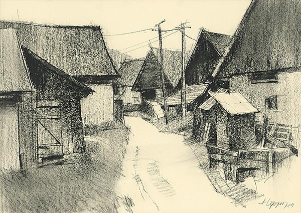 Július Hegyesy - Ulica v Rejdovej