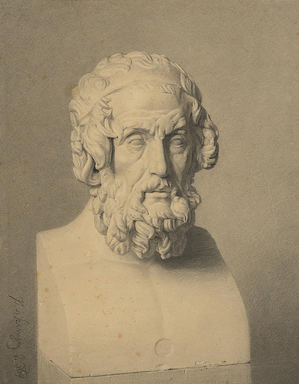 Pál Szinyei Merse – Antický filozof