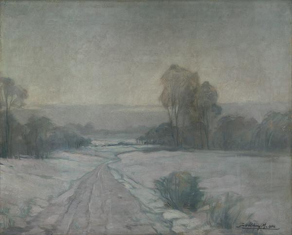 Mikuláš Jordán – Zimná krajina II.