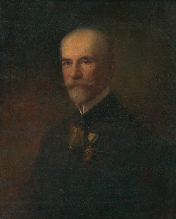 Maximilián Kurth - Portrét muža