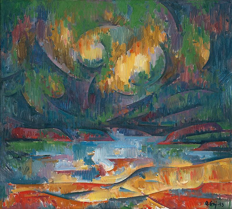 Andrej Gaj – Domaša, 1993, Šarišská galéria