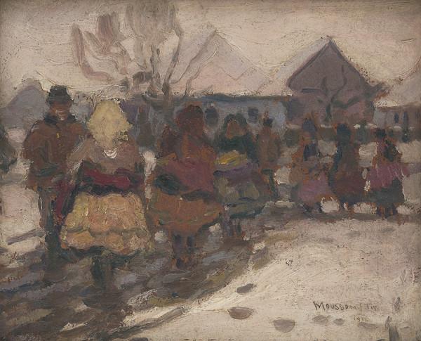 Teodor Jozef Mousson – Zima na dedine
