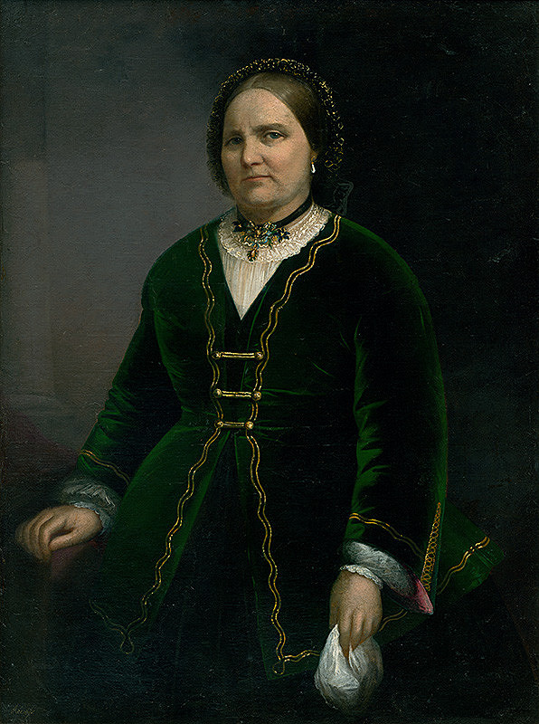 Juraj Révész - Portrét staršej dámy