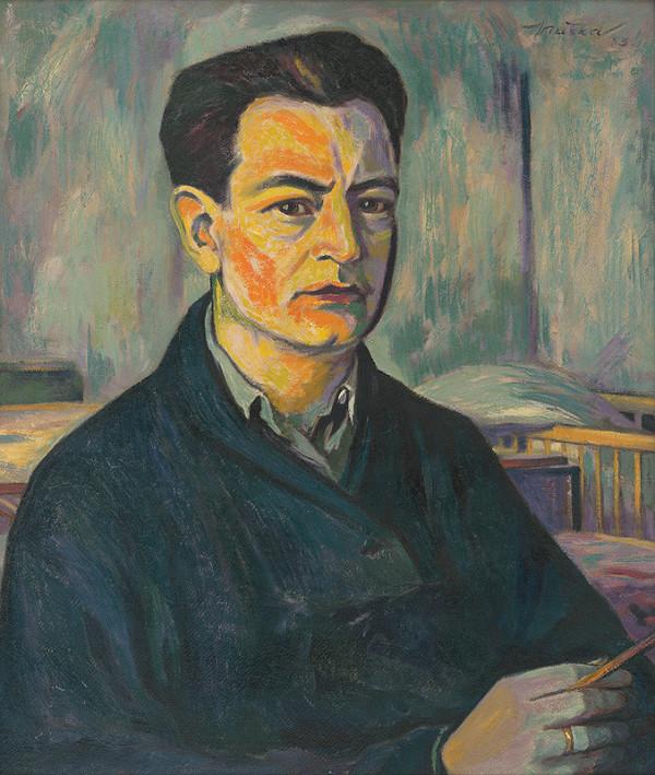 Július Muška - Modrý portrét
