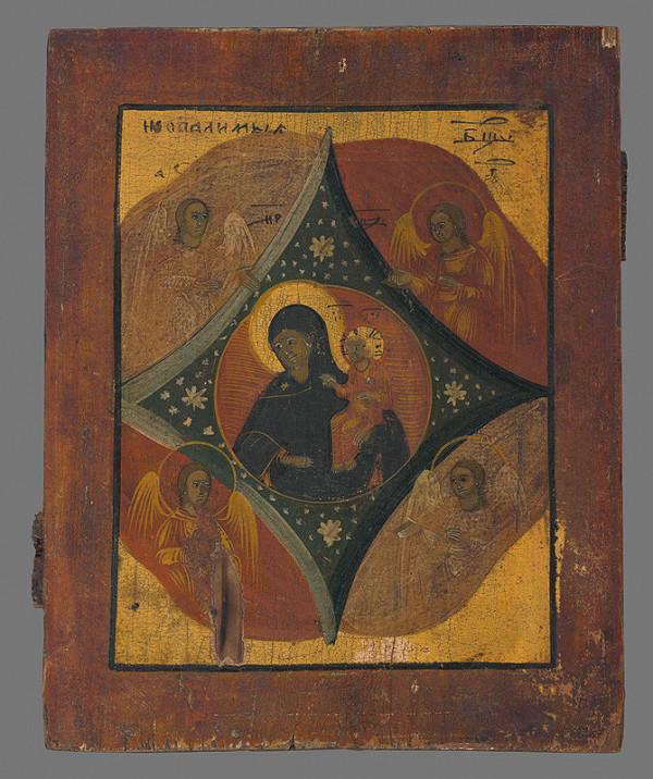 Neznámy autor - Matka Božia (ikona)