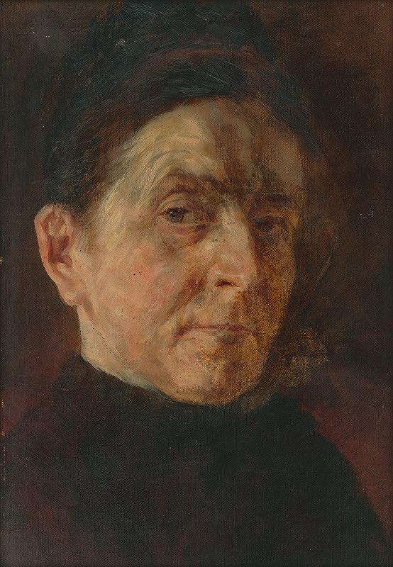 Aurel Ballo - Podobizeň umelcovej matky