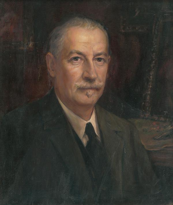 Maximilián Kurth – Portrét Auréla Ballu