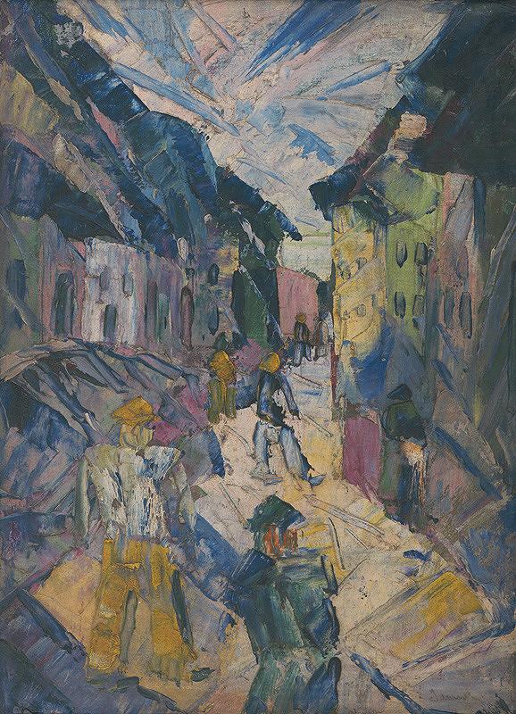 Anton Jasusch - Na ulici