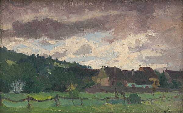Ernest Rákosi - Domky v záhrade