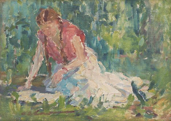 Andrej Doboš – V záhrade