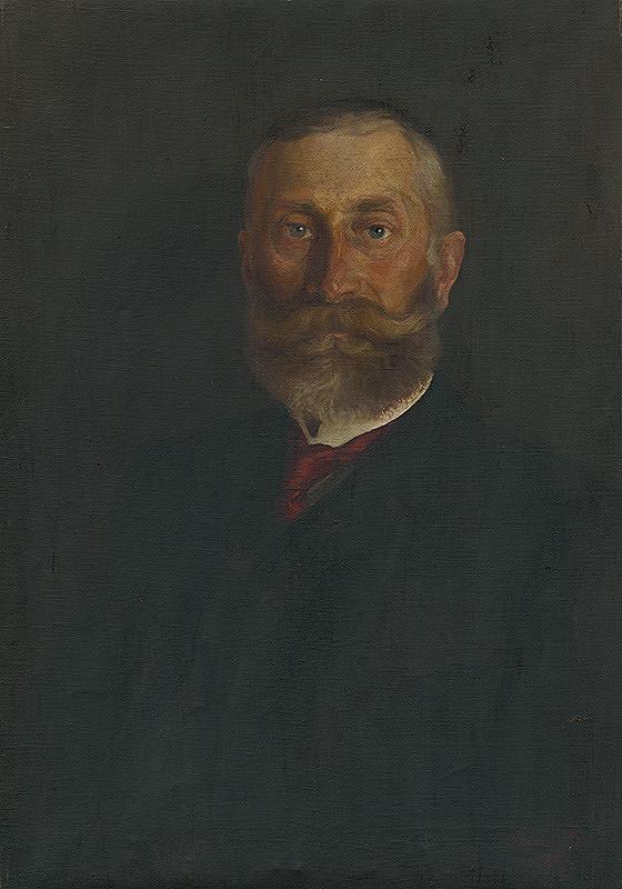 Ernest Rákosi – Portrét muža