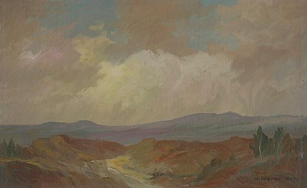 Mikuláš Jordán – Krajina pri Snine