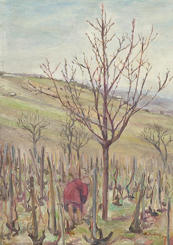 Orest Dubay - Stromy vo vinohrade