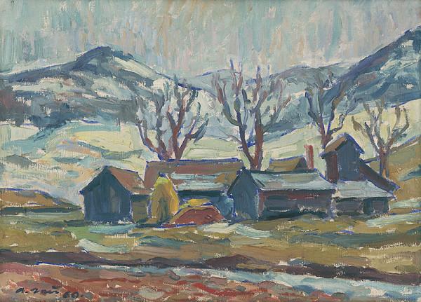 Andrej Gaj - Starý mlyn v Šambroni