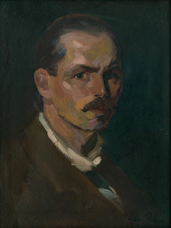 Ernest Rákosi – Autoportrét