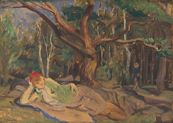 Jozef Bendík – V lese