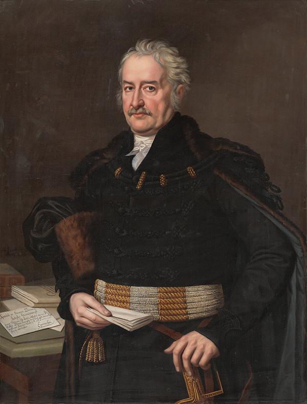 Ján Rombauer – Podobizeň Jozefa Ganczaugha